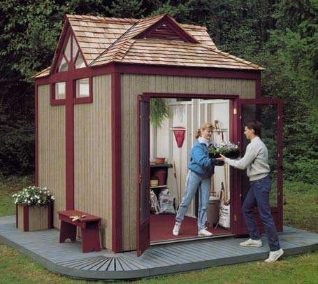 Free Gable Shed Plans, Part 3