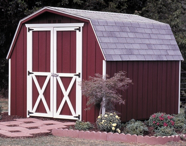 SAMPLE Shed Plans 17, 8x12 Gambrel Roof, Medium Shed, DOWNLOAD