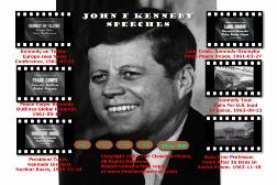 The Complete John F Kennedy Speeches Collection on DVD