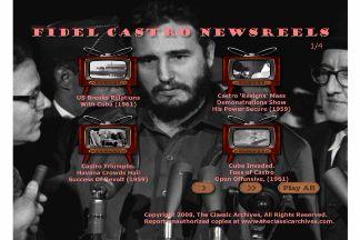 Fidel Castro Newsreel Footage clip download 19