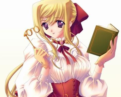 Manga Rapunzel Girl