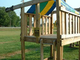 jungle gym and playhouse swing set plans 3