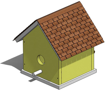 Wood Birdhouse Plans, Outdoor Wood Plans, DOWNLOAD