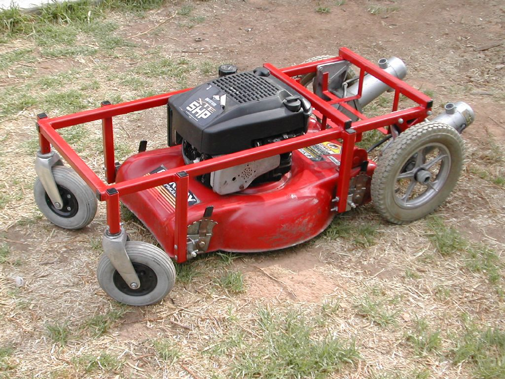 Build your own radio control lawn mower