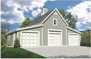 Deluxe garage and workshop plan 18 options download free sample garage and shed plans solutioingenieria Gallery