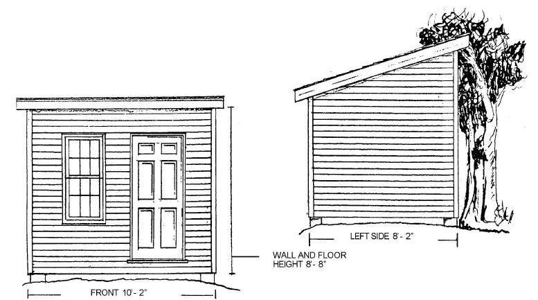10x8 Shed Plan Free Material List