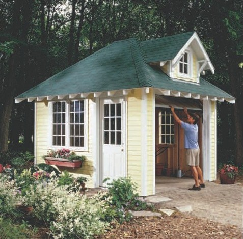 custom storage shed plans