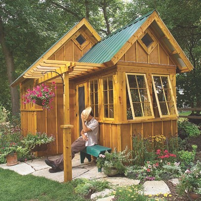 Ultimate garden shed plans download for Outside buildings design