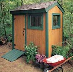 free outdoor shed plan package