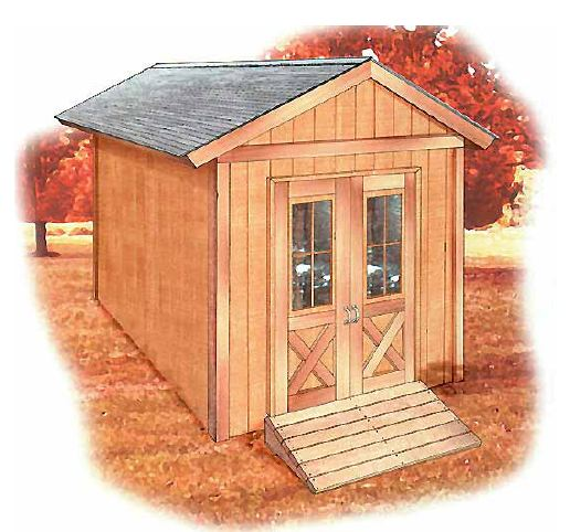 custom shed plan package