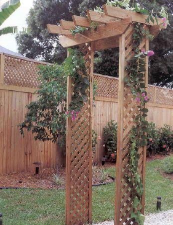 outdoor arbor plans