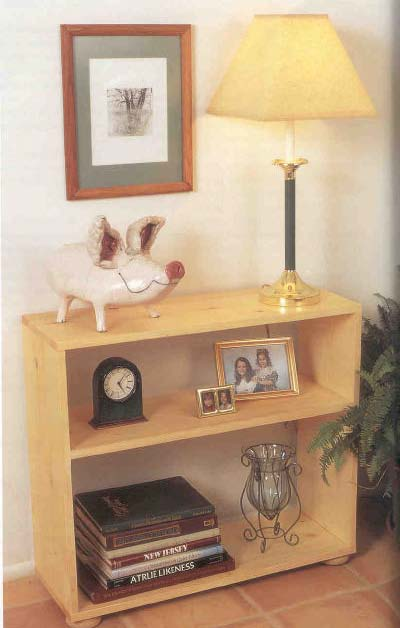small bookcase furniture wood working plans for download
