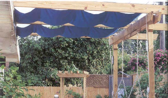 deck canopy wood working plans for download