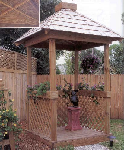 Mini Gazebo wood working plans for download