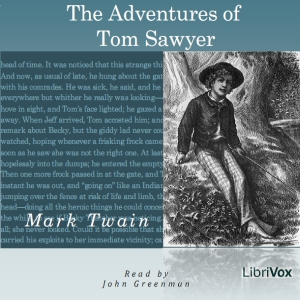The Adventures of Tom Sawyer, by Mark Twain, Audiobook MP3 CD
