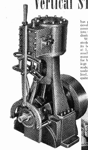 vertical steam engine plans for download