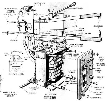 titans 70 welding machine wiring diagram how to build a spot welder workshop tool plans immediate
