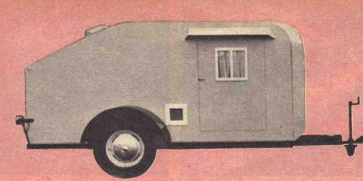 Vintage Camping Trailer, Workshop Wood Plans, IMMEDIATE DOWNLOAD