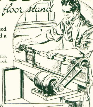 Homemade Wood Lathe, Workshop Tool Plans, IMMEDIATE DOWNLOAD