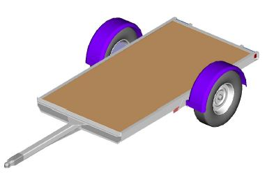 Utility Trailer, Workshop Tool Plans, IMMEDIATE DOWNLOAD