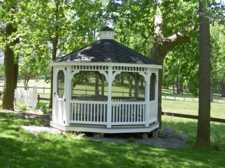SAMPLE Gazebo Plans 05, 10 ft Octagon Gazebo, IMMEDIATE DOWNLOAD