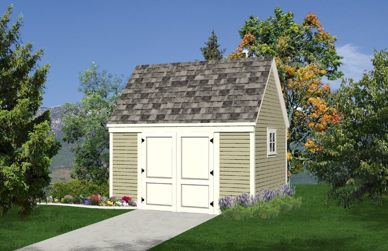 SAMPLE - Deluxe 10x14 Starter Storage Shed Plans, DOWNLOAD