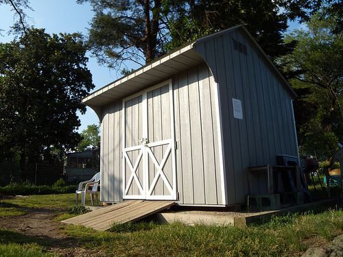SAMPLE Shed Plans 24, 12x12 Saltbox Roof, Medium Shed, DOWNLOAD - Click Image to Close