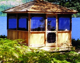 SAMPLE Gazebo Plans 02, 8 ft Square Gazebo, IMMEDIATE DOWNLOAD