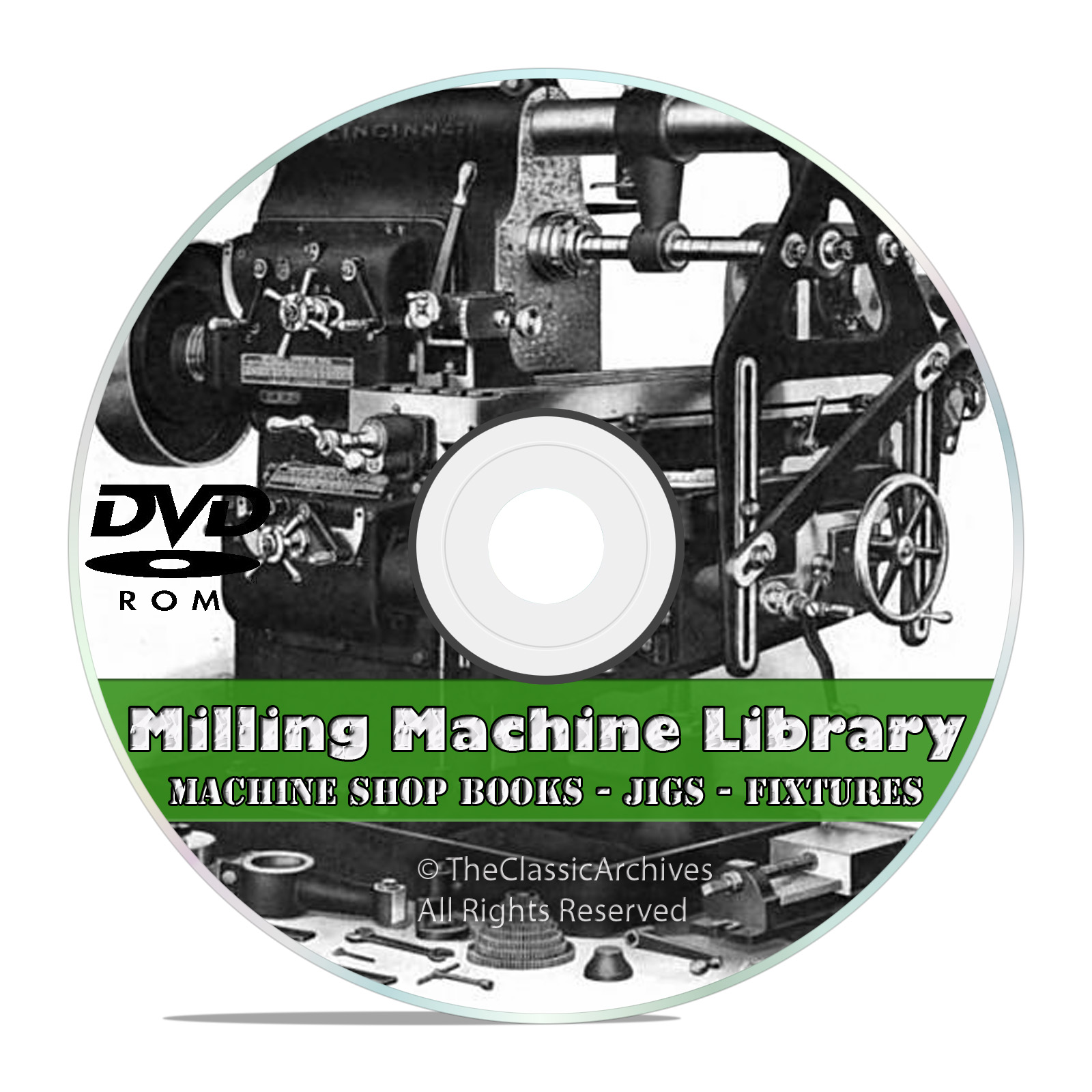 Milling Machine Operation DVD Shop Practice Jigs Fixtures Machinist Guide