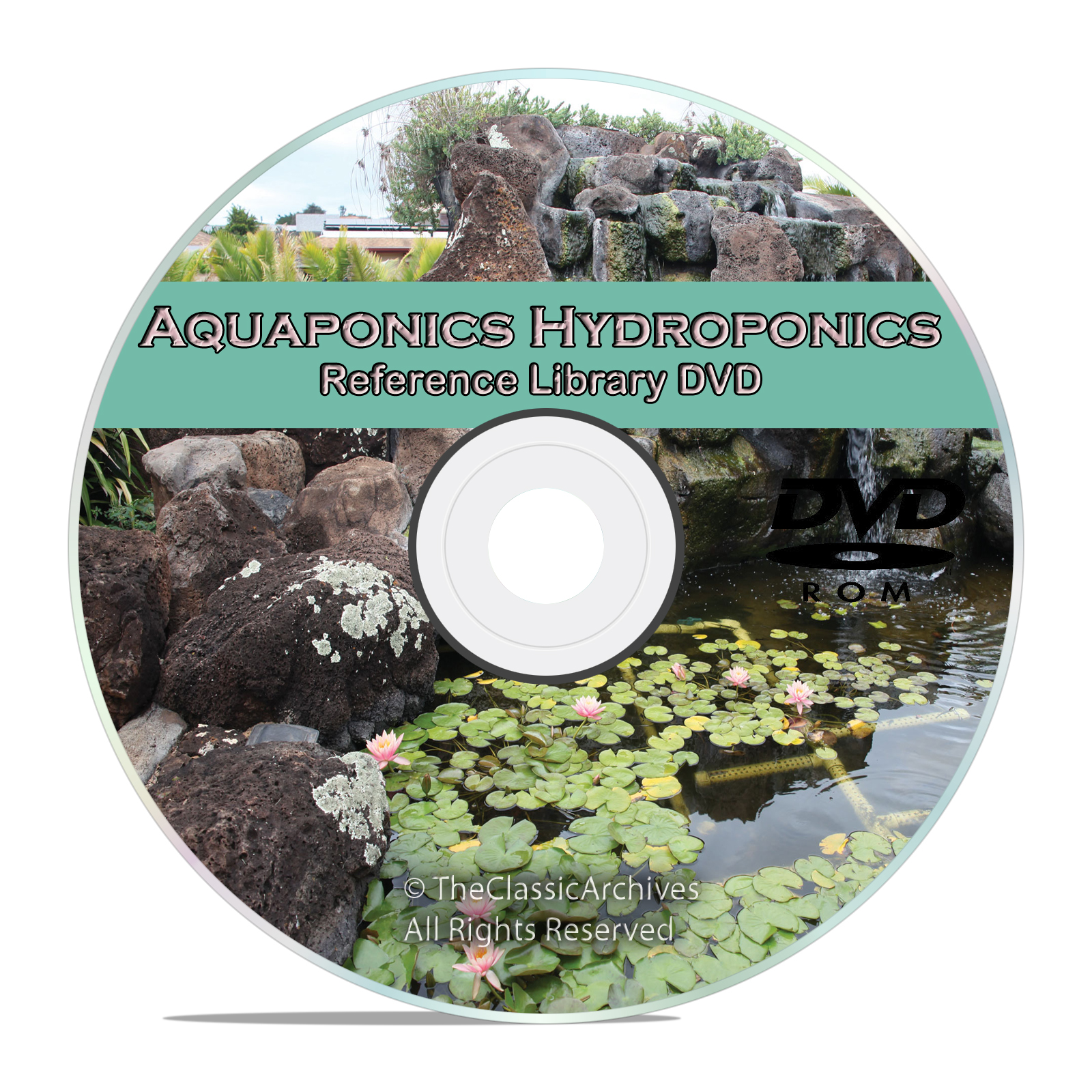 Learn about Soilless Gardening, Hydroponics, Aquaponics, Aquaculture on DVD