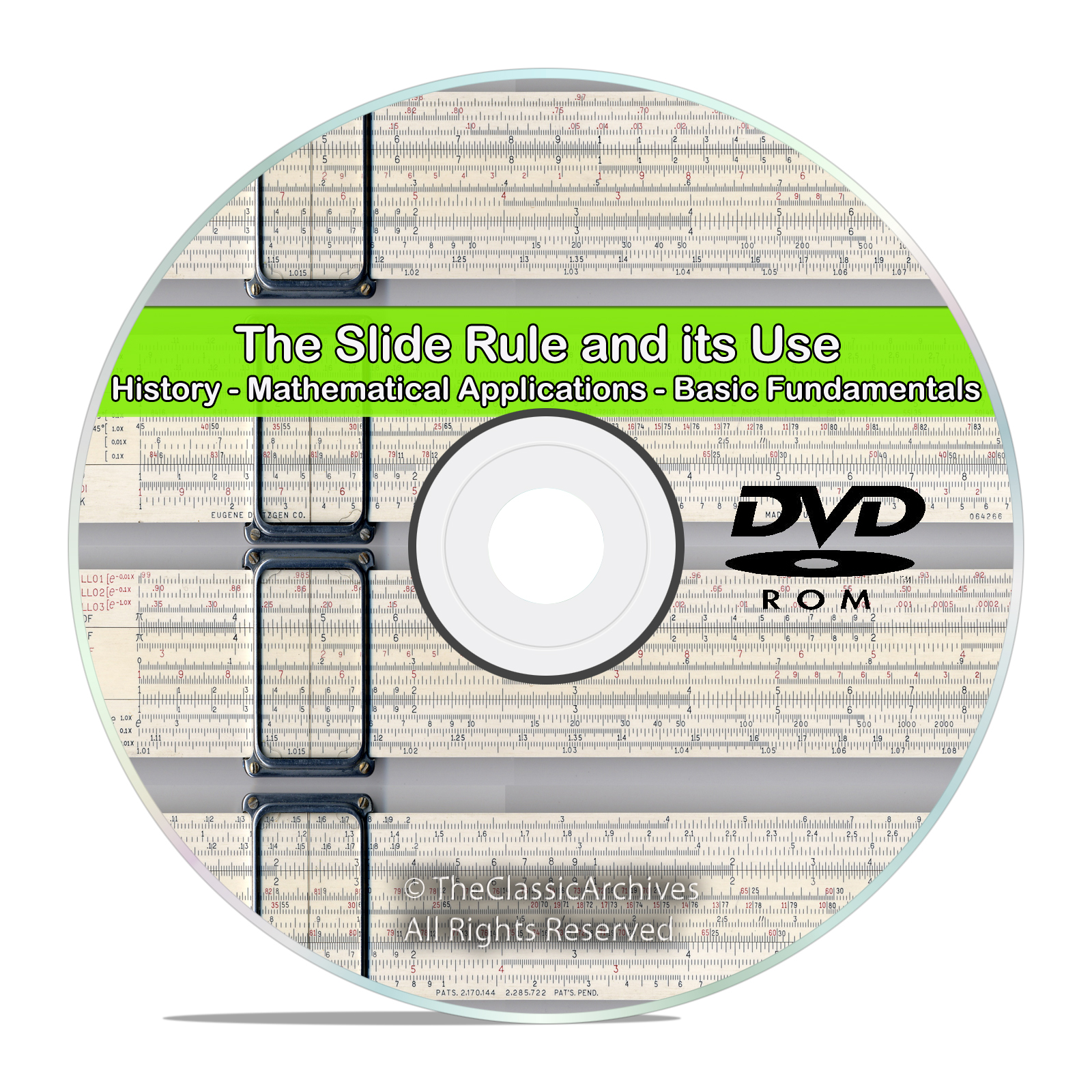 Slide Rule Machinist Arithmetic Mathematics Workshop Drawings Guides DVD