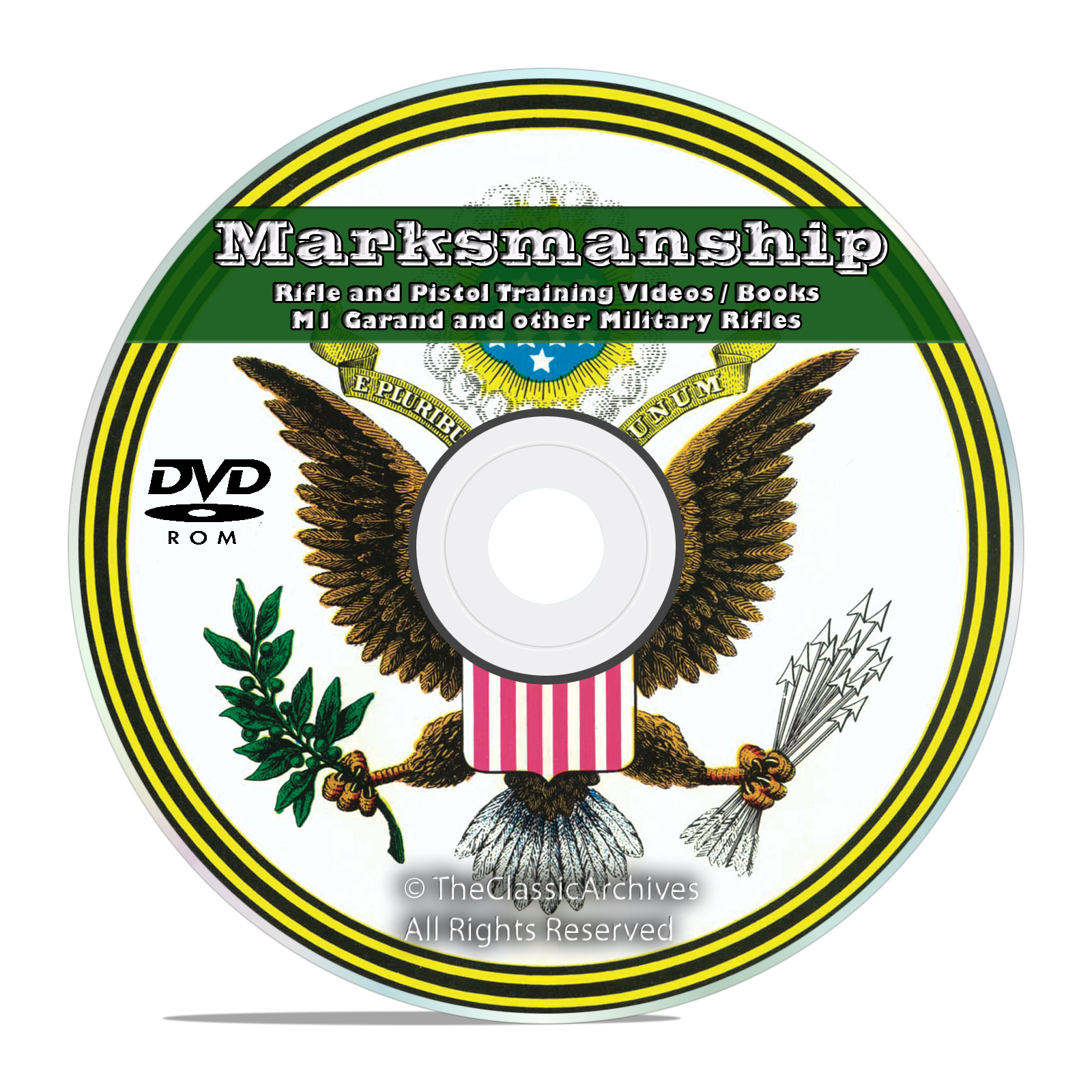 Rifle / Pistol Marksmanship, Vintage Manuals and Training Videos on DVD