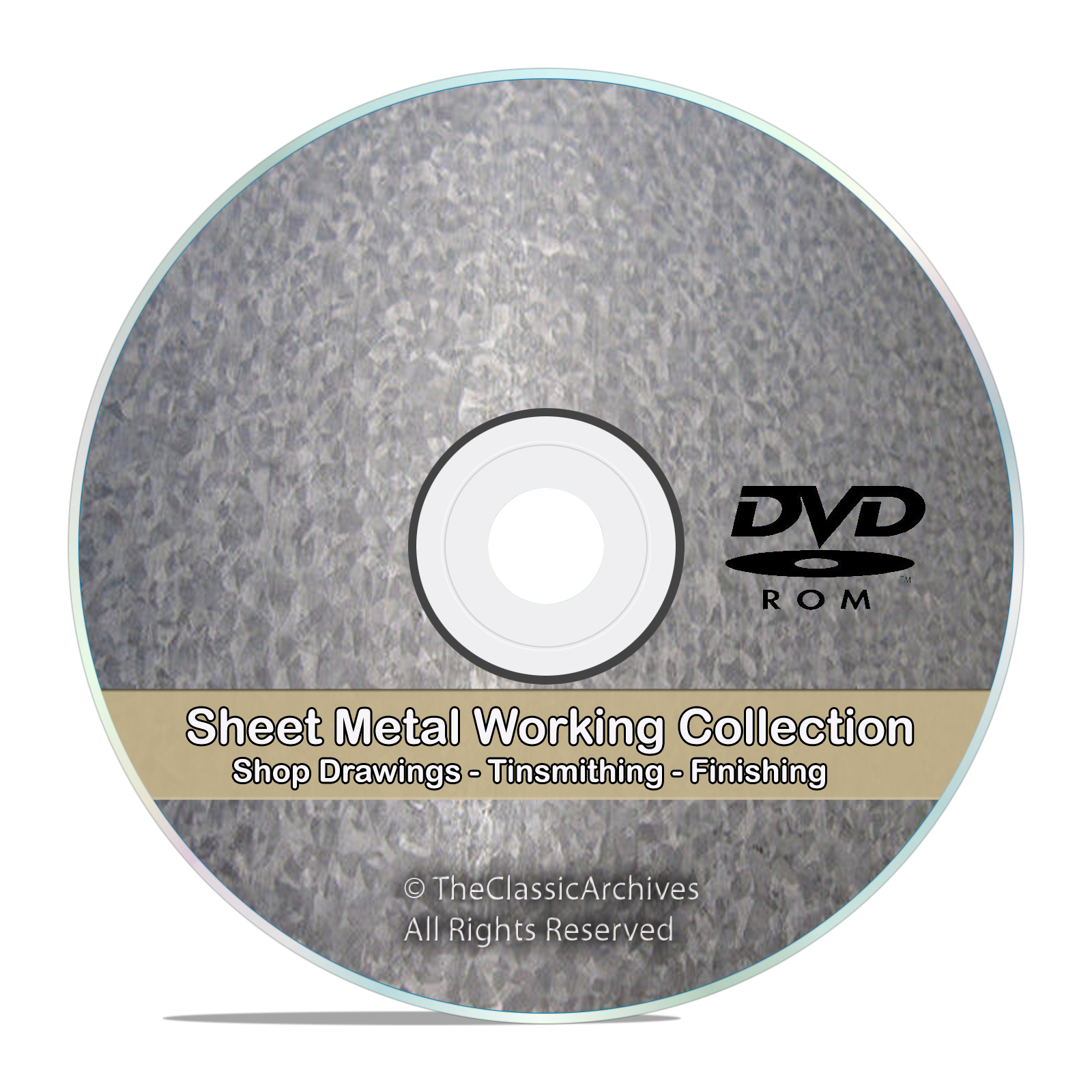Sheet Metal Work Tinsmithing Pattern Drafting Cutting Shop Library DVD