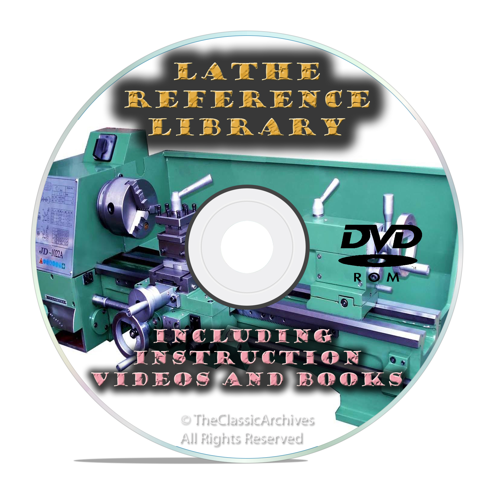 Learn How to Run a Lathe-Do Metal Turning Boring and Fabrication DVD
