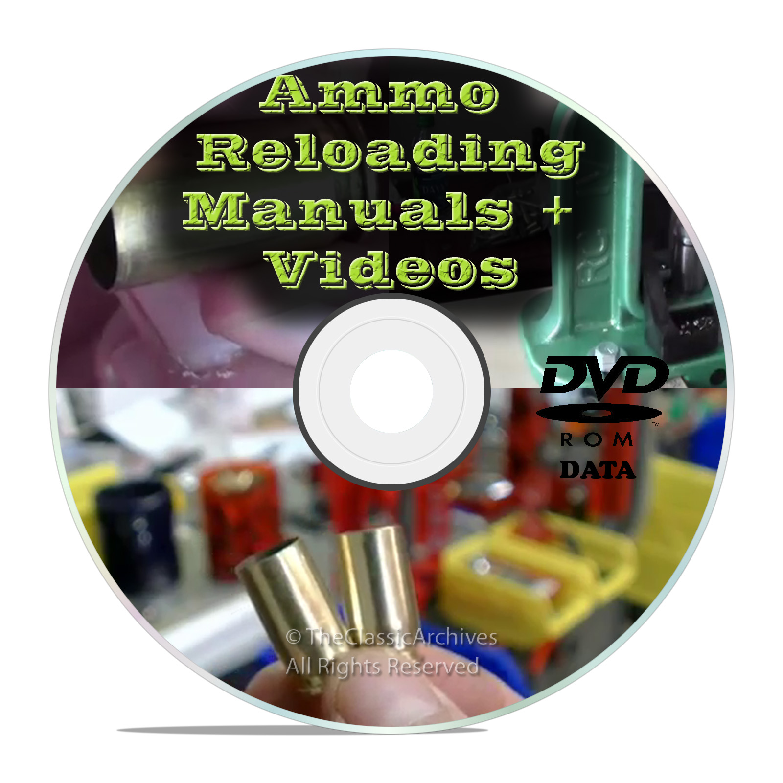 Ammunition Reloading Manuals, Learn to Reload Ammo on DVD- Snail Mail