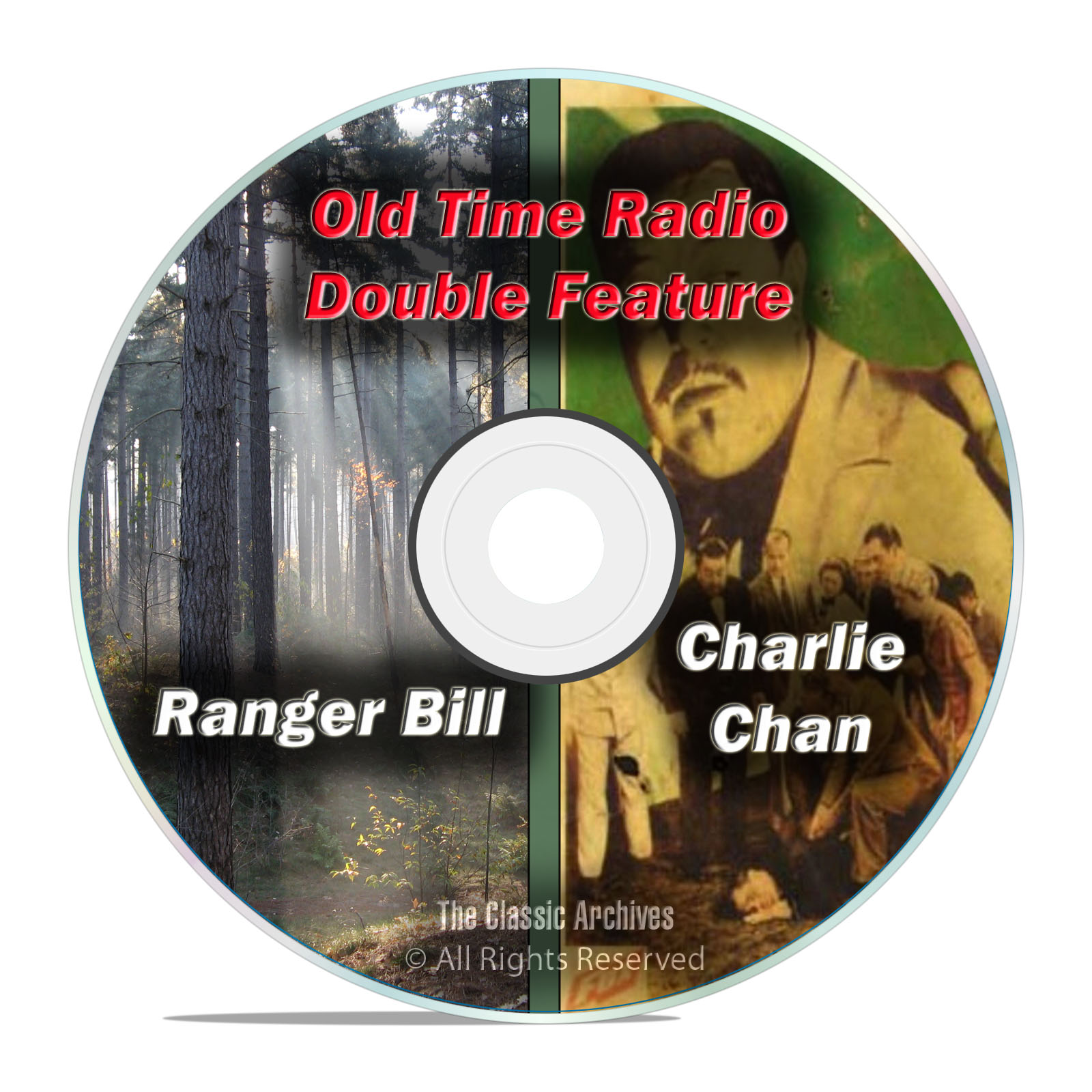 Charlie Chan, Ranger Bill, 365 ALL KNOWN SHOWS Old Time Radio, OTR, DVD