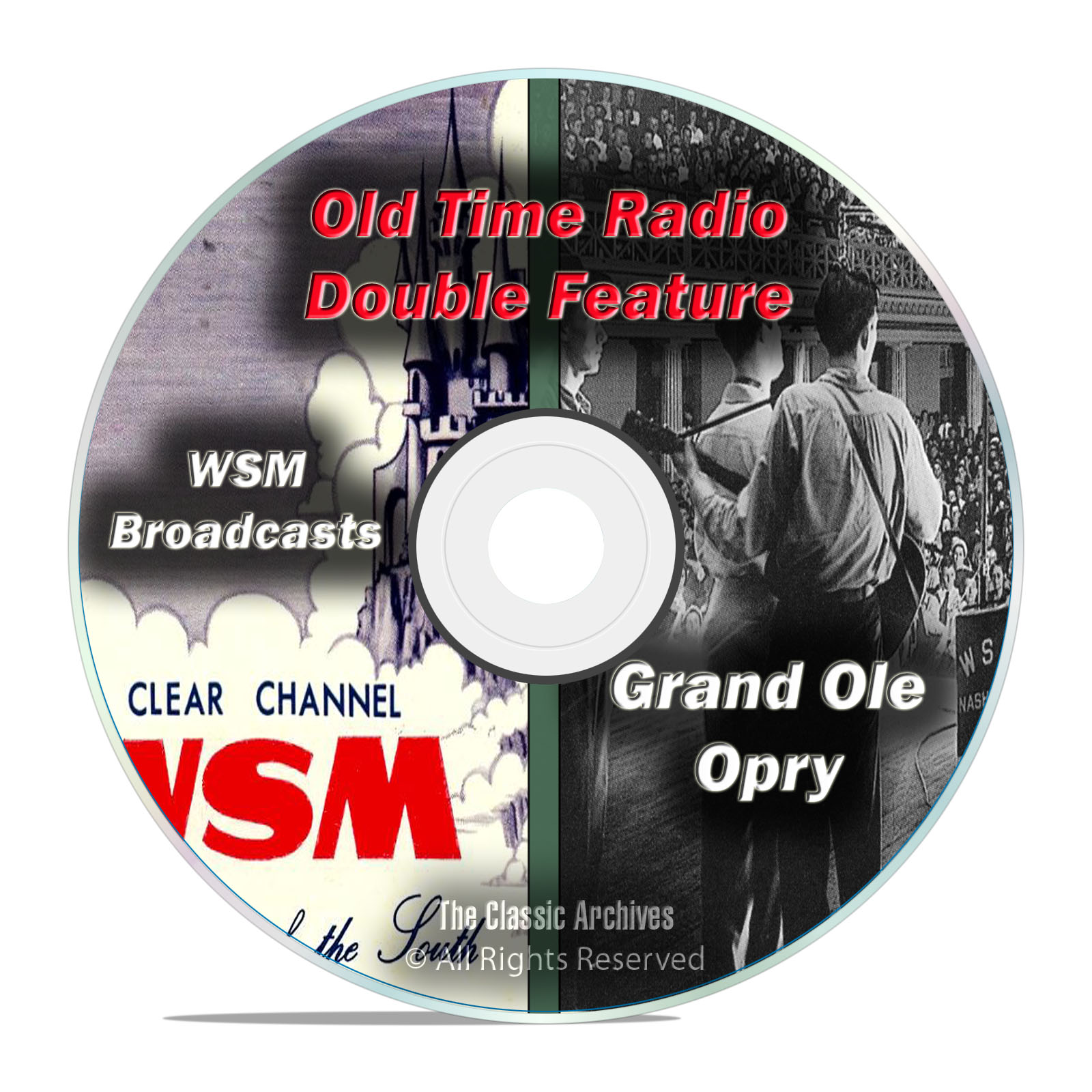The Grand Ole Opry, 440 CLASSIC EPISODES, Music Old Time Radio, OTR, DVD