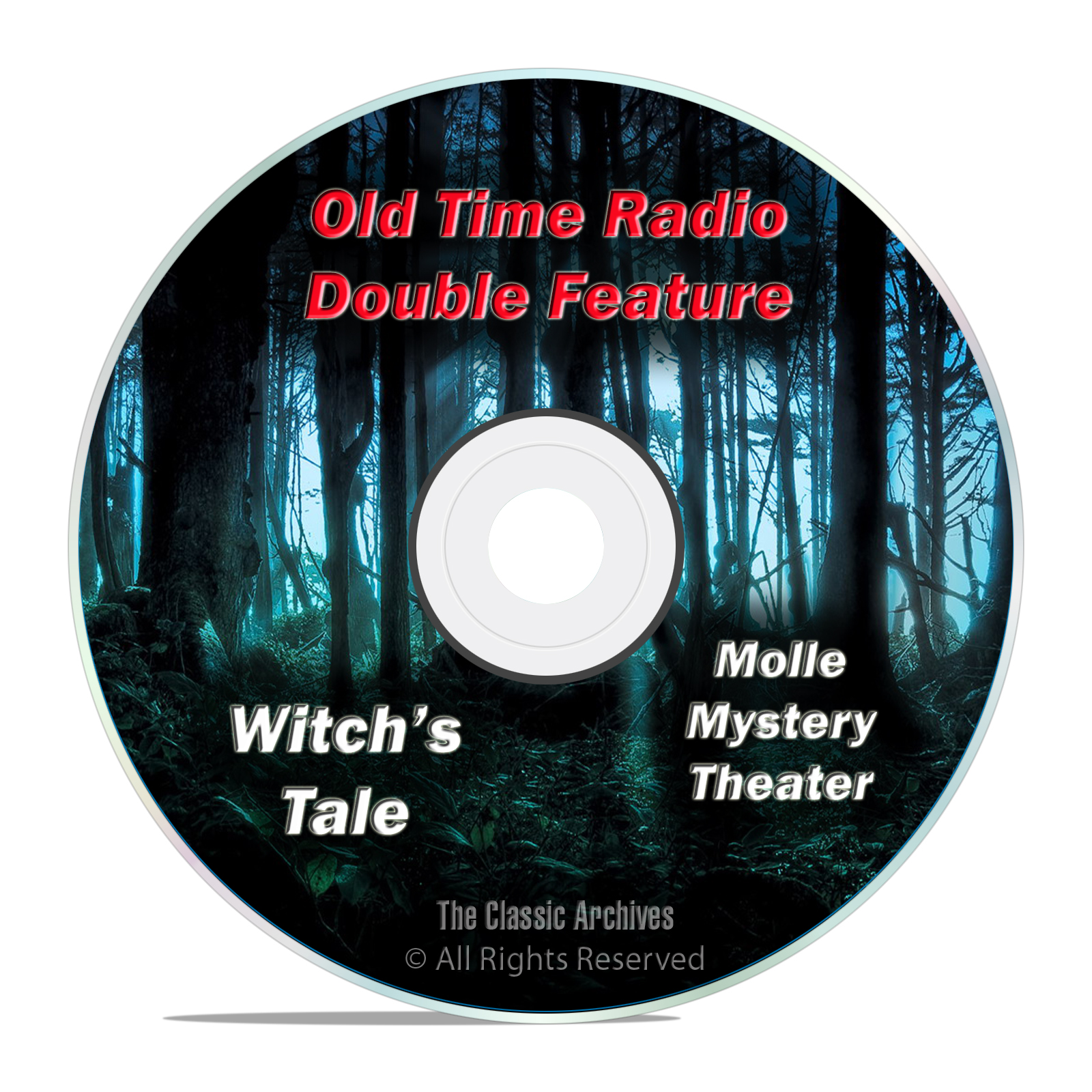 Witch's Tale, Molle Mystery Theater All 186 Episodes Old Time Radio OTR DVD