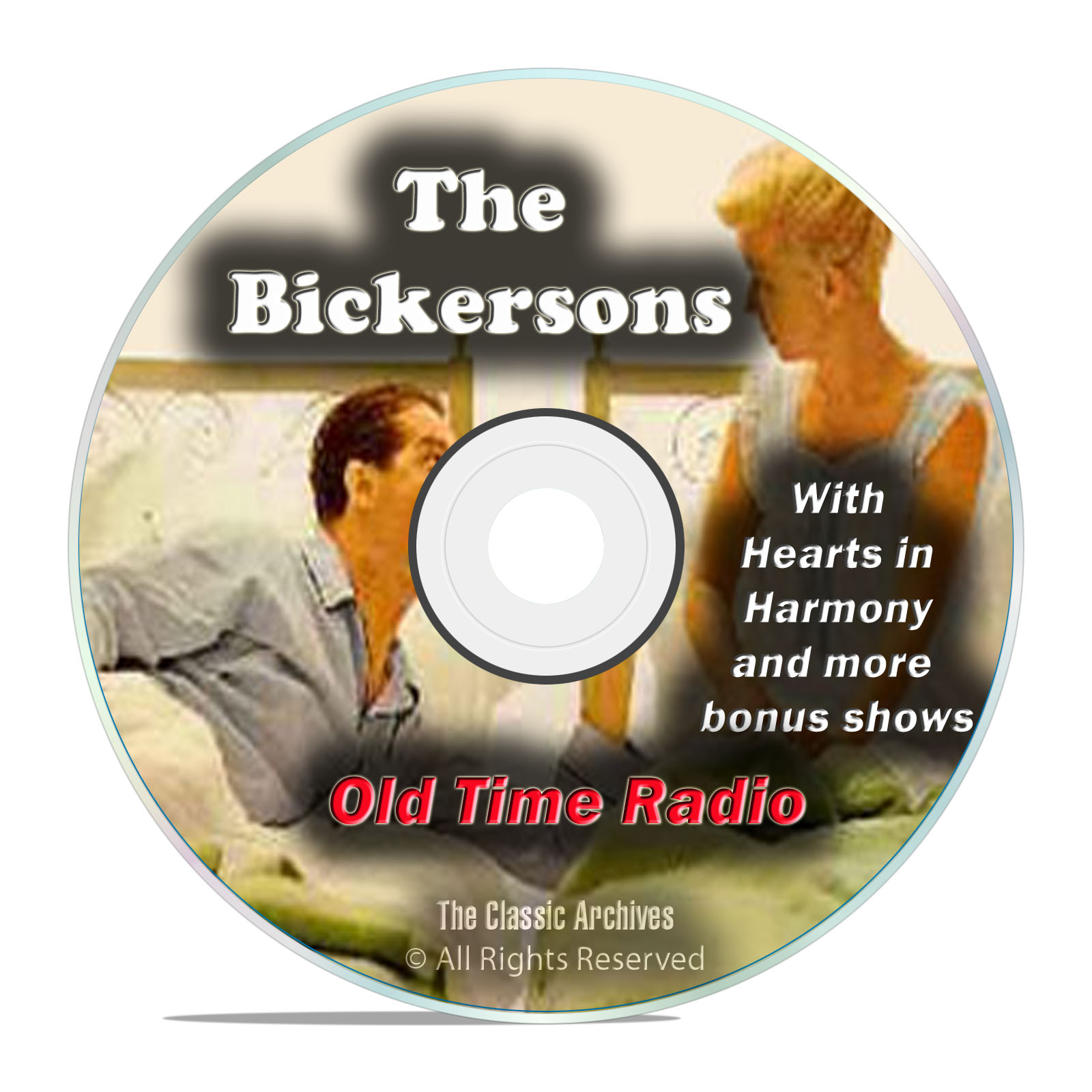 The Bickersons, 987 Episodes Old Time Radio Sitcom Comedy OTR DVD MP3
