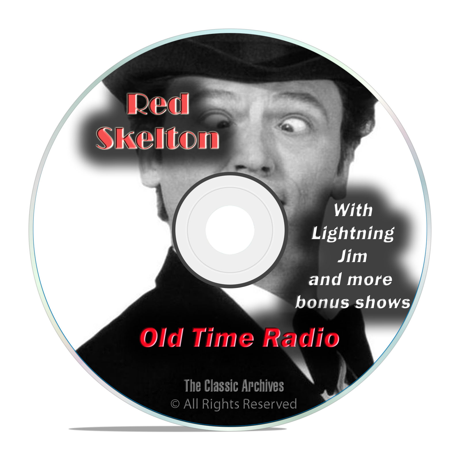 Red Skelton, 854 CLASSIC EPISODES, Comedy Old Time Radio, OTR, DVD
