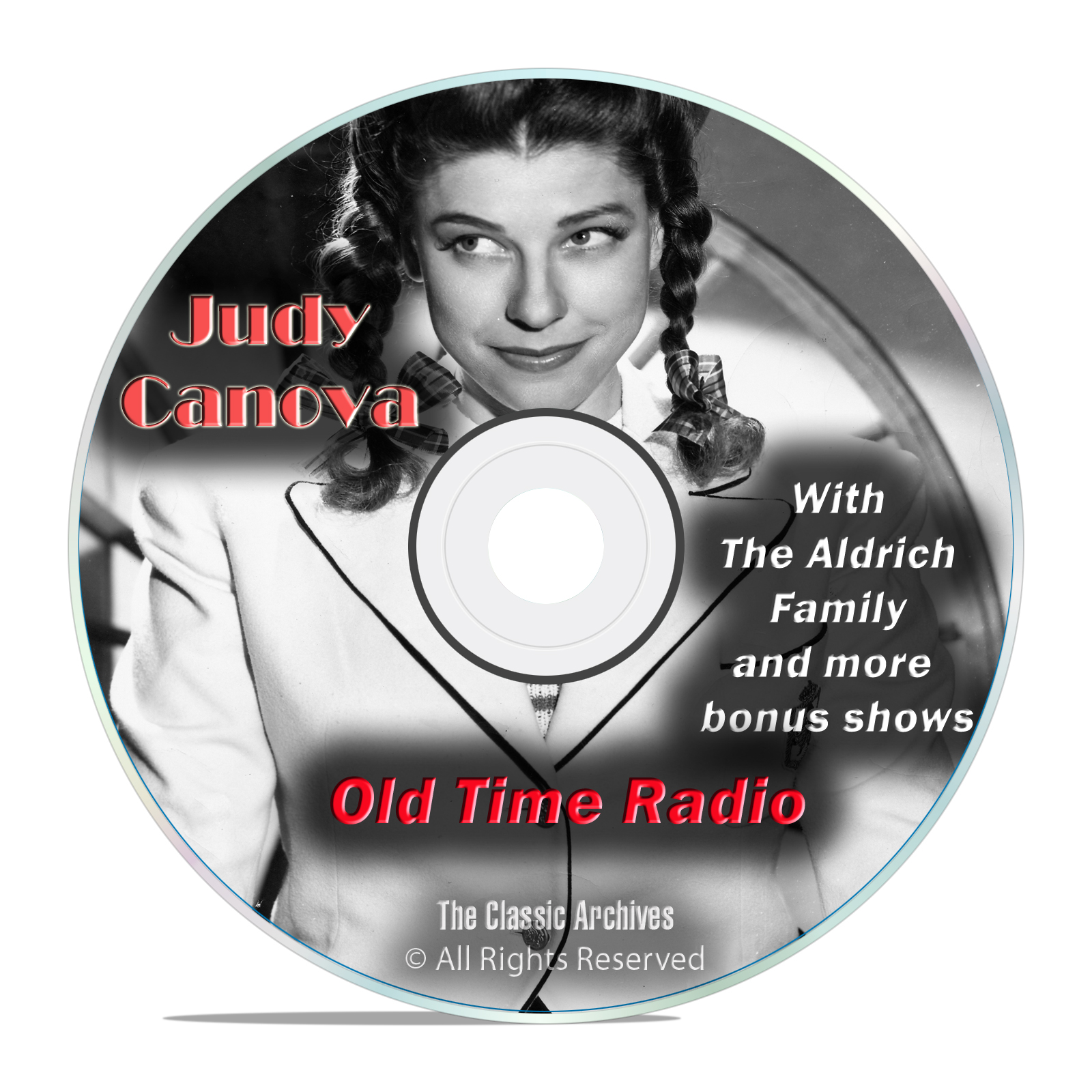 Judy Canova, Aldrich Family, 743 Family Sitcom Old Time Radio Shows, OTR