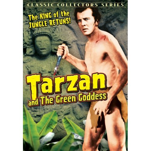 Tarzan Double Feature DVD, The Green Goddess, Tarzan's Revenge!