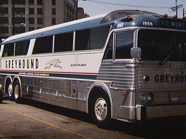 Rare Greyhound Bus Travel and American Tour Films