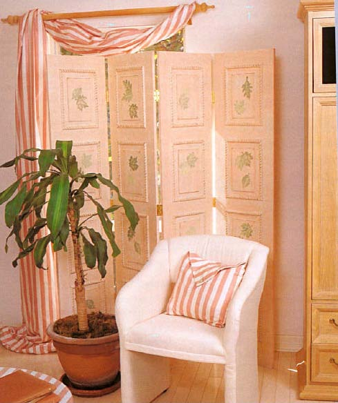 Folding Screen, Wood Furniture Plans, IMMEDIATE DOWNLOAD