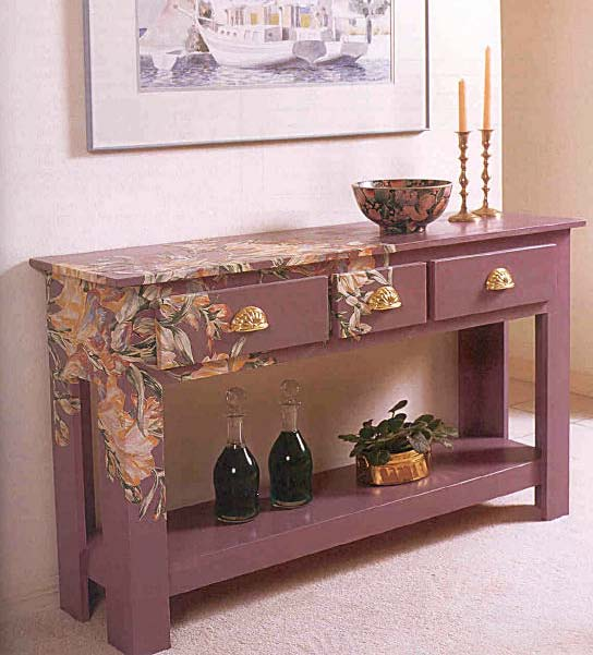 Classy Buffet Table, Wood Furniture Plans, IMMEDIATE DOWNLOAD