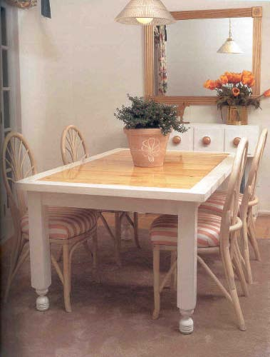 Dinner Table, Wood Furniture Plans, IMMEDIATE DOWNLOAD