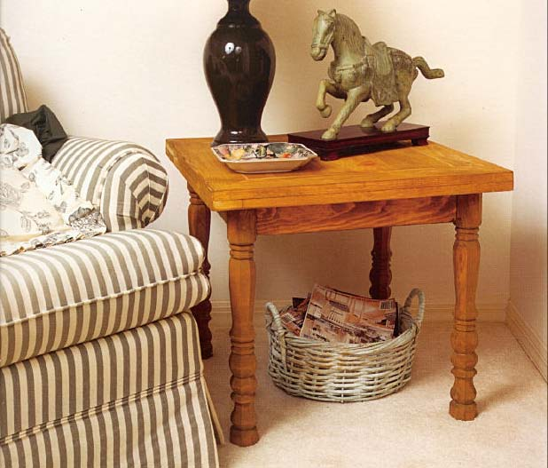 Occasional End Table, Wood Furniture Plans, IMMEDIATE DOWNLOAD