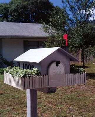 Cottage Mailbox, Outdoor Wood Plans, IMMEDIATE DOWNLOAD