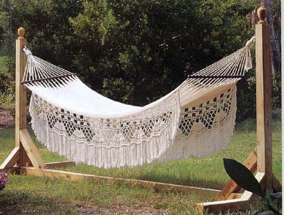 Hammock Stand, Outdoor Wood Plans, IMMEDIATE DOWNLOAD