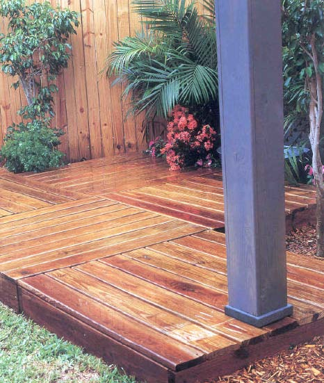 Portable Deck, Outdoor Wood Plans, IMMEDIATE DOWNLOAD